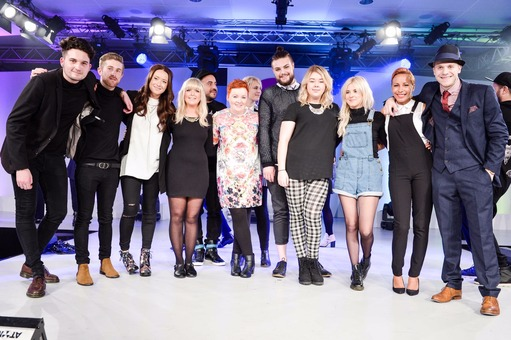 Molbys at Tigi Awards 2014
