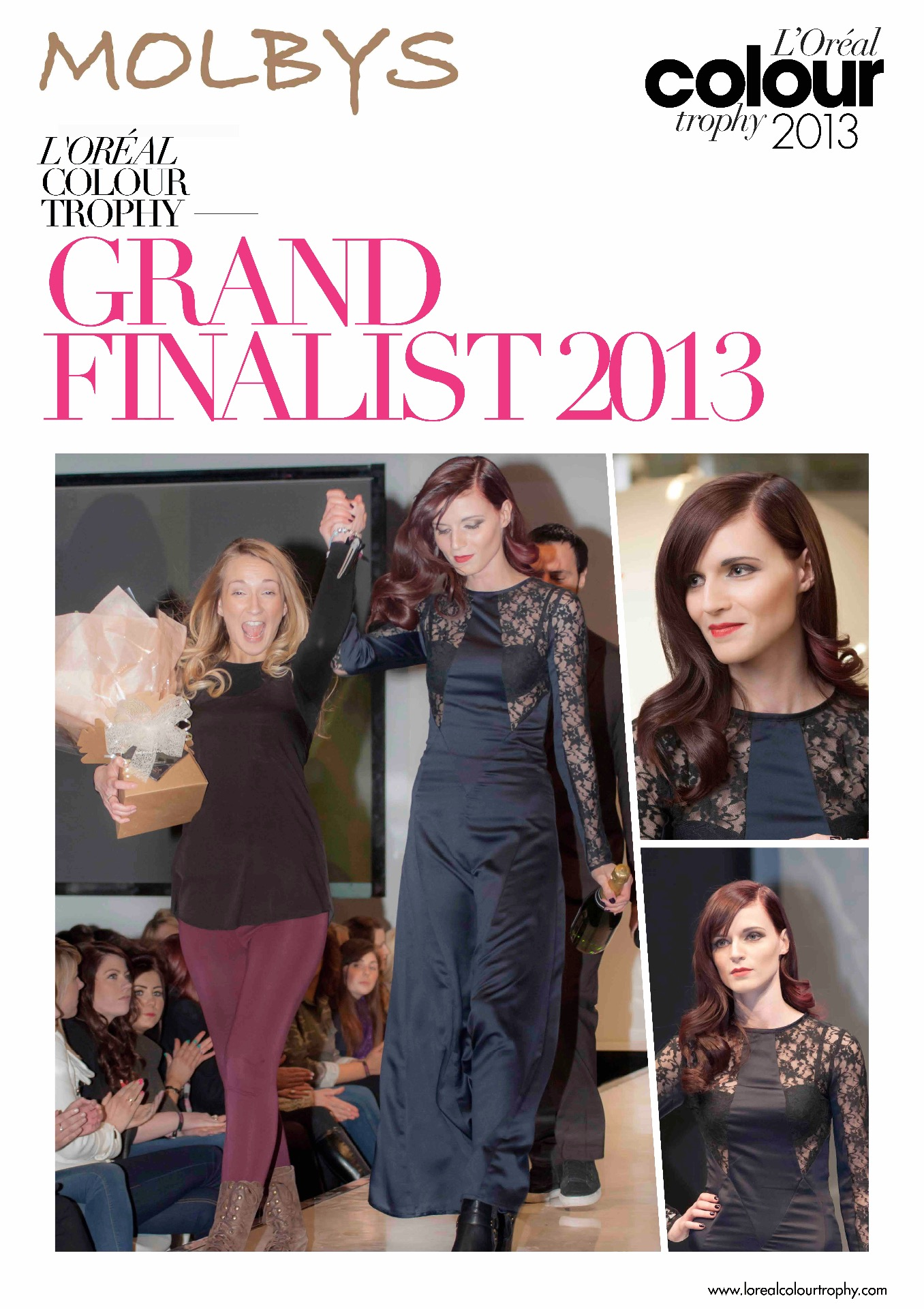 Molbys Grand Finalist L'Oreal Colour Trophy 2013